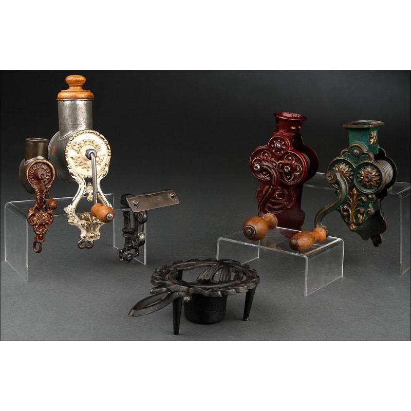 Colección Alemana de Antigüedades de Cocina de Principios del Siglo XX. Muy Decorativas y Funcionando Bien