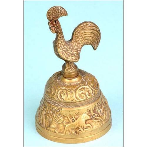 Campanilla en bronce. S. XX