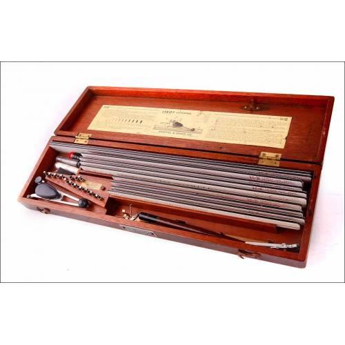 Completo Juego Antiguo Leroy para Rotular Letras. Profesional. Estados Unidos, Años 50