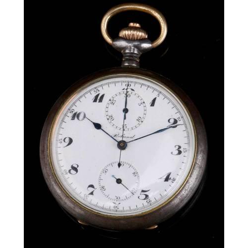 Antiguo Reloj Cronómetro Biland Funcionando Muy Bien. Suiza, 1920