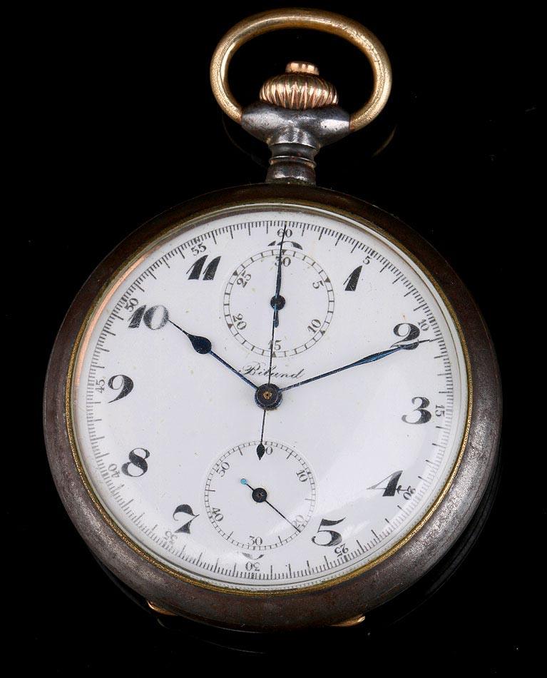 Antiguo Reloj Cronómetro Biland. Suiza, 1920