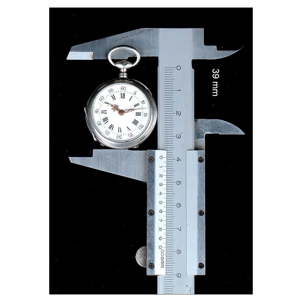 600bf4ad4c6c Reloj de Bolsillo en Plata