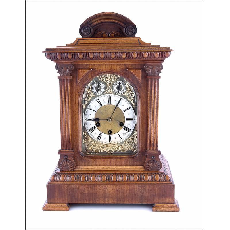 Fabricado JunghansAlemania1908 Por Antiguo De Reloj Péndulo FJTc1lK3