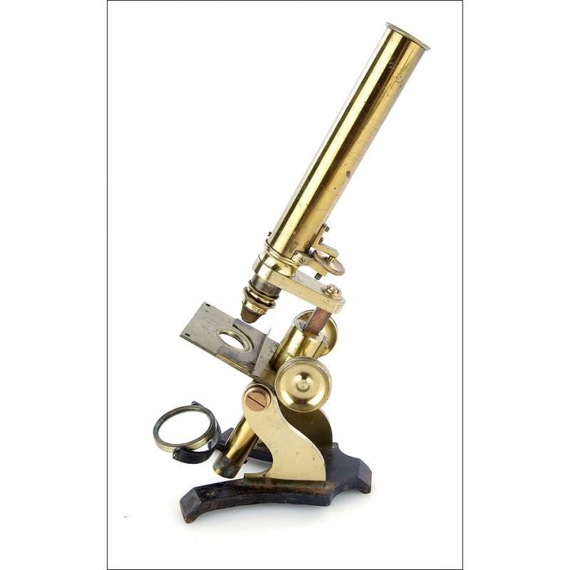 Microscopio Compuesto Inglés, 1880