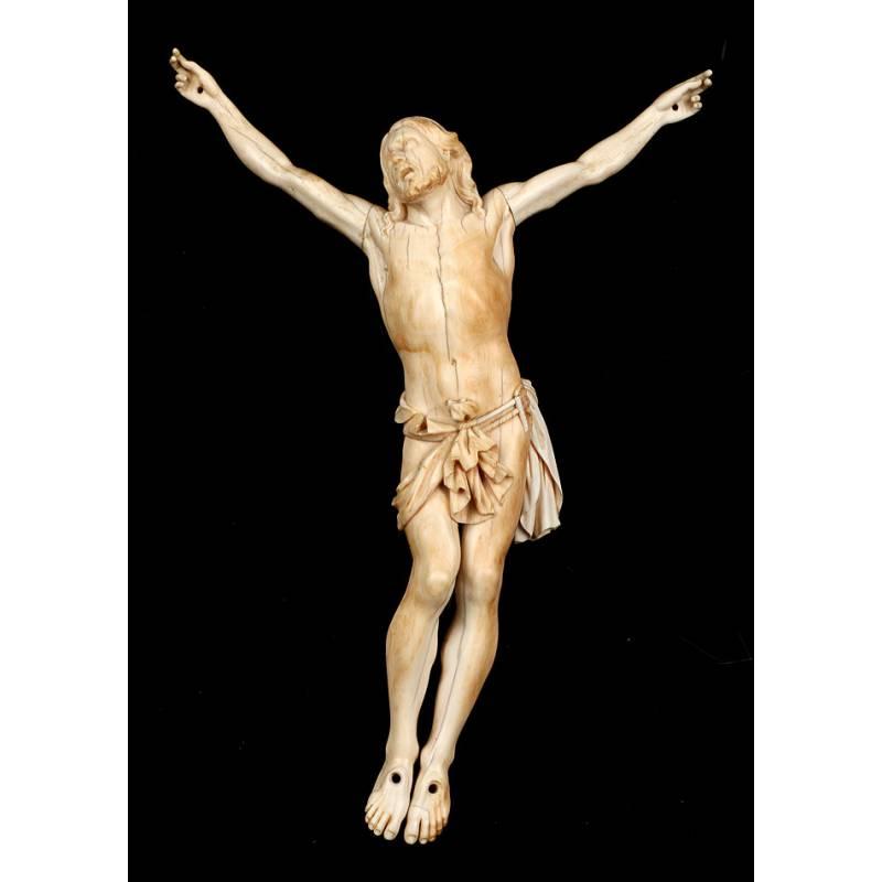 Antiguo Cristo de Marfil, S. XVII-XVIII