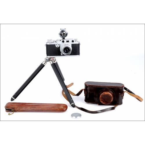 Cámara Fotográfica Leica IIf Red Dial, 1954