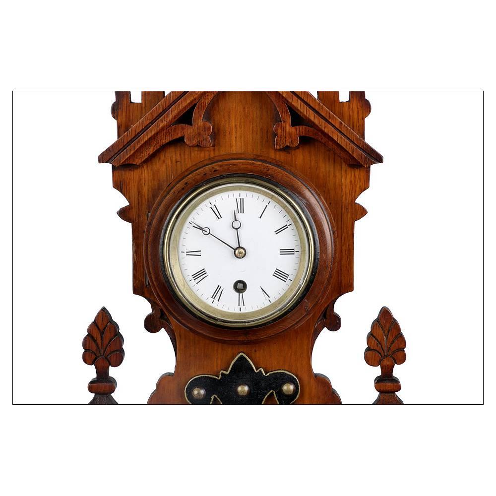 Antiguo reloj de pared con bar metro term metro inglaterra 1910 - Termometro de pared ...