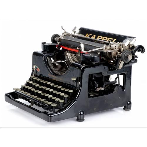 Máquina de Escribir Antigua Kappel Mod. 2 Alemania, Años 30