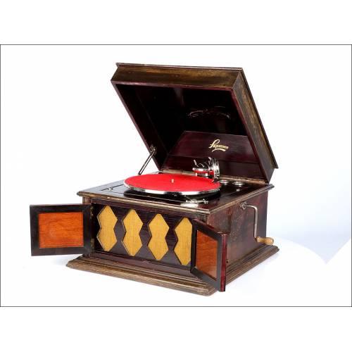 Antiguo Gramófono de Sobremesa. Francia –España, 1930