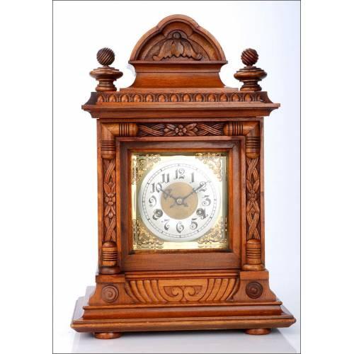 Reloj de sobremesa Antiguo Junghans. Alemania, 1907