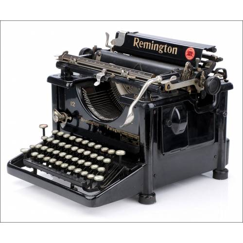 Máquina de Escribir antigua Remington 12. USA, 1927