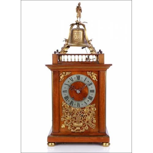 Reloj Antiguo de Mathieu Planchon con Sonería. Francia, Circa 1880