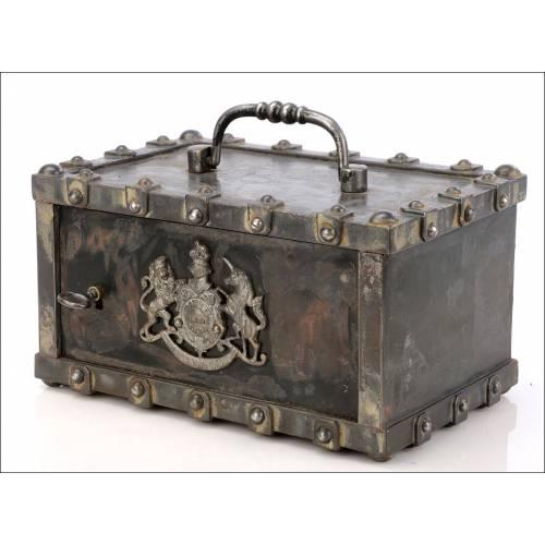 Caja Fuerte Inglesa Antigua. Siglo XIX