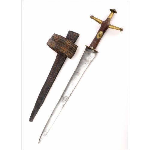 Antigua Espada Corta Tuareg. Circa 1900