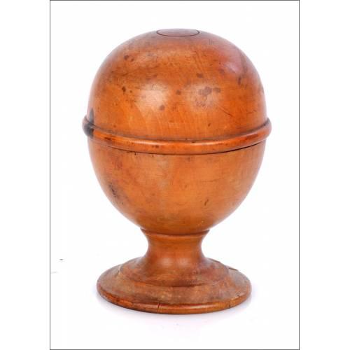 Antigua Copa Farmacéutica Doradora de Píldoras . Circa 1850