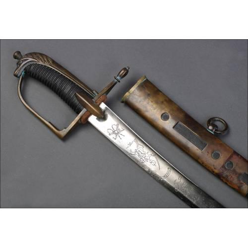 Antigua Espada de Caballería. Circa 1900