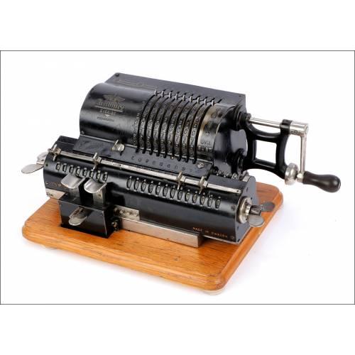 1 Calculadora Mecánica Odhner. Suecia, Circa 1920