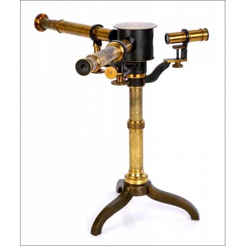 Antiguo Espectroscopio por los Hermanos Breton. Francia, S. XIX