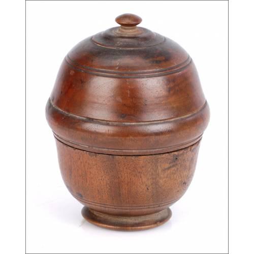 Antigua Copa Farmacéutica de Dorar Píldoras. Siglo XIX