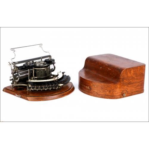 Antigua Máquina de Escribir Hammond 12. USA, 1905