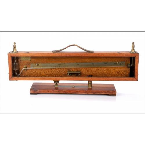 Antiguo Manómetro de Precisión Negretti y Zambra. Inglaterra, Circa 1930