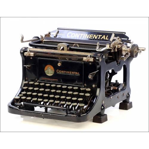 Antigua Máquina de Escribir Continental. Alemania, Años 30