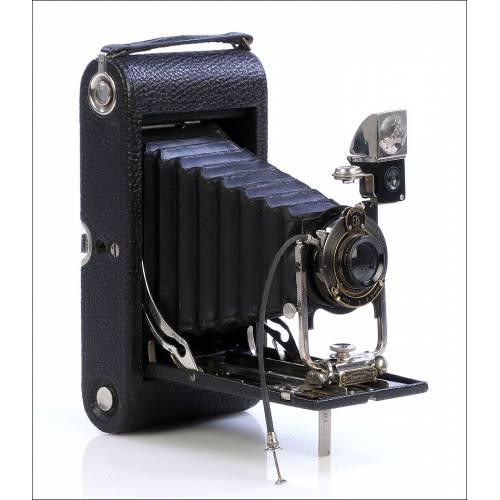 Antigua Cámara Fotográfica Kodak 3A. De Museo. USA 1915