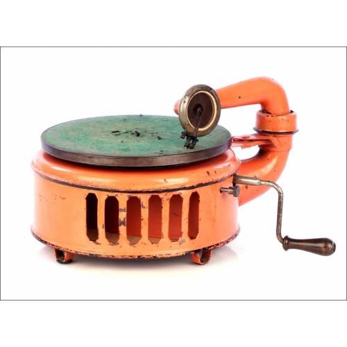 Gramófono Antiguo Induphon. Alemania, Años 20