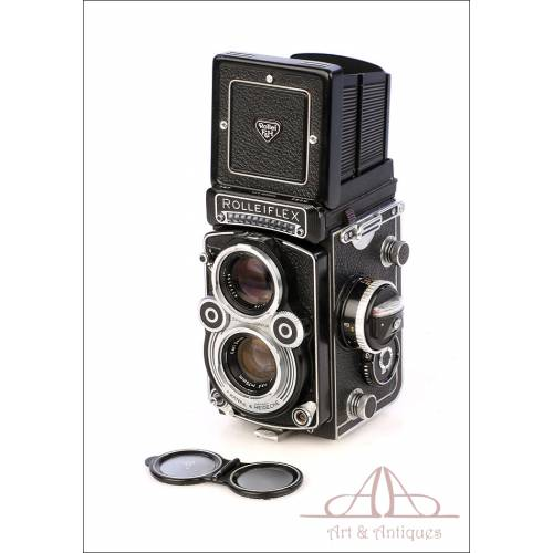 Excelente Cámara Vintage Rolleiflex 3,5 F Modelo 3. Fabricada en 1969