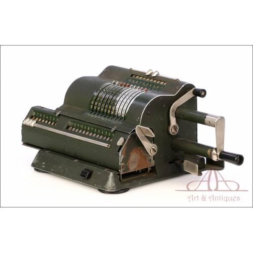 Antigua Calculadora Mecánica. Funcionando. Circa 1940