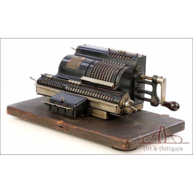 Antigua Calculadora Mecánica Marchant. USA, Circa 1920