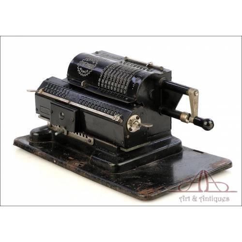 Antigua Calculadora Mecánica Felix. URSS, Circa 1930