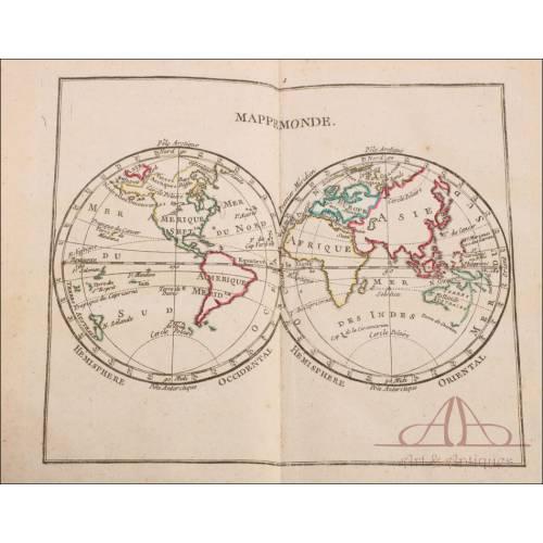 Antiguo Atlas para los Oficiales de las Escuelas Reales Militares. Francia, 1777