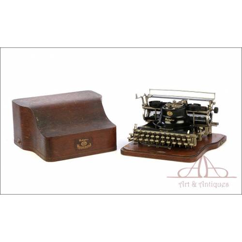 Antigua Máquina de Escribir Hammond Multiplex. USA, 1913