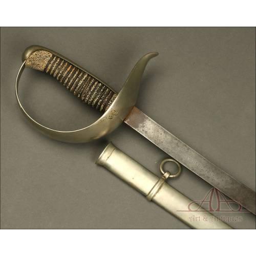 Antigua Espada - Sable Modelo 1877. Fechado 1896. España.