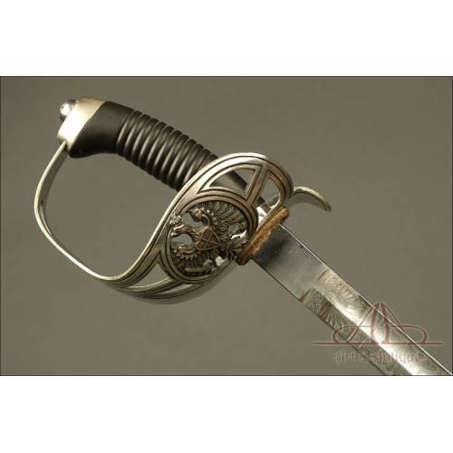 Antigua Espada Prusiana para Tropa de Caballería Modelo 1889