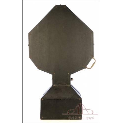 Gran Estuche Antiguo para Custodia de hasta 84,5 cm. S. XIX