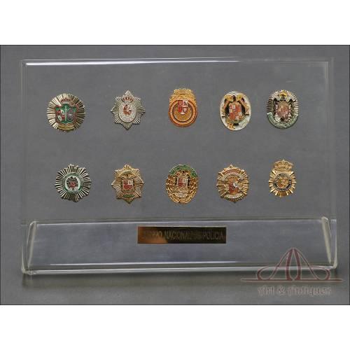 Colección de Pines de la Policía Nacional. España