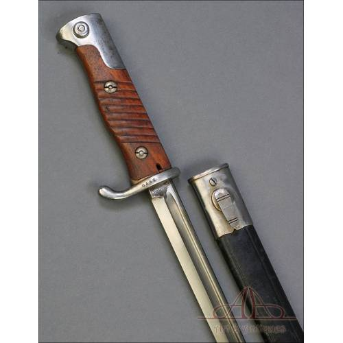 Antigua Espada-Bayoneta Alemana Modelo 1898, para el Ejército de Perú.  Circa 1900