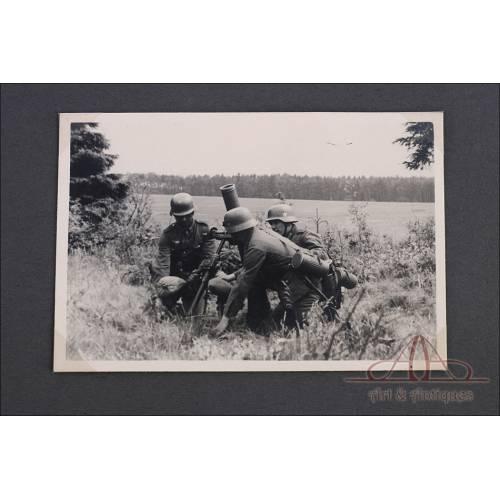 Álbum de Fotos de Soldado Alemán. 3ª Batería de Artillería de Bremen. Alemania, 2ªGM