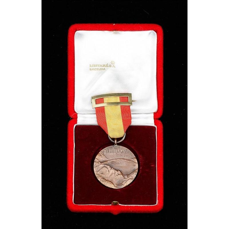 Medalla de la Inauguracion de la Presa de El Atazar, Madrid, Abril de 1972