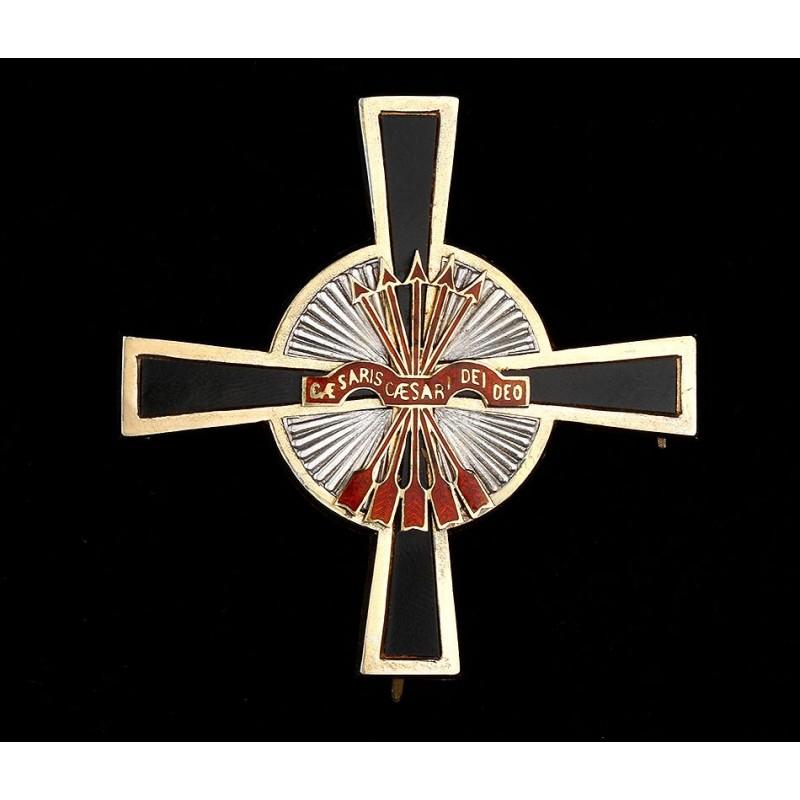 Placa de Encomienda de la Orden Imperial del Yugo y las Flechas