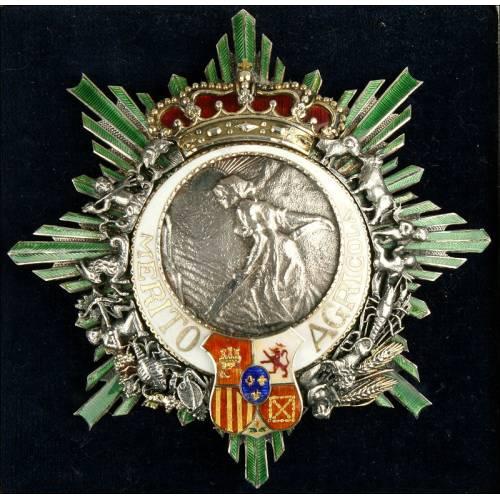 España, Orden del Mérito Agrícola. 1905-1930. Primer Modelo