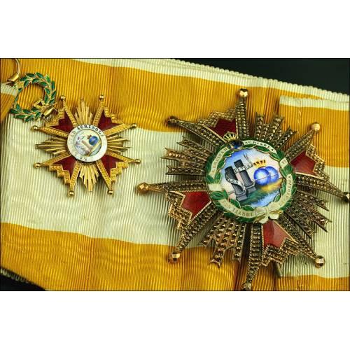 España, Gran Cruz de la Orden de Isabel la Católica. Modelo Antiguo. Circa 1900