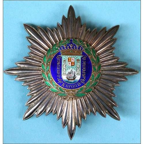 España. Placa medalla del Ilustre Colegio de Cultura Hispánica