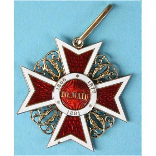 Rumanía. Comendador Orden de la Corona de Rumanía