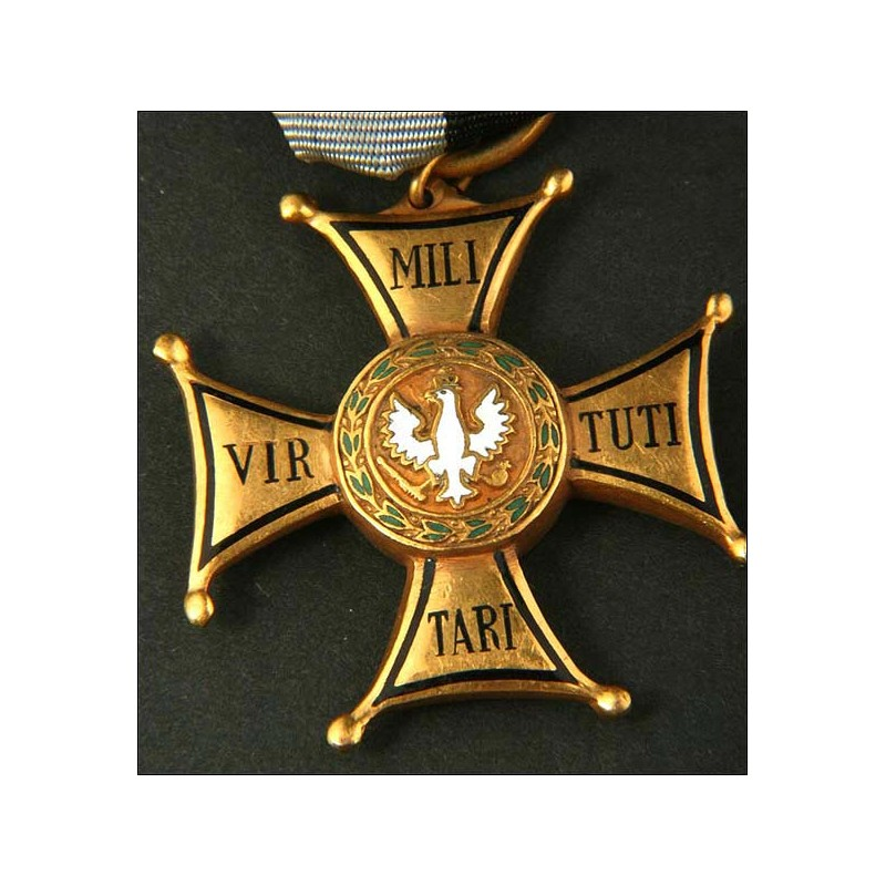 Poland. Polish order of Virtity Military. 4th class