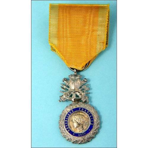 Francia. Medalla militar. Valor y disciplina, 1870