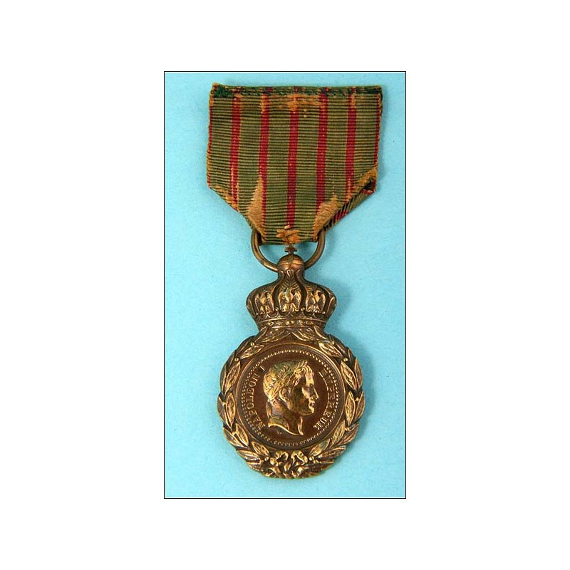 Francia. 1857. Medalla de Santa Elena