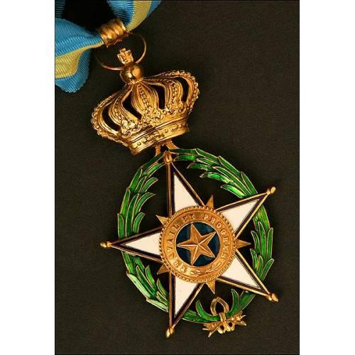 Orden de la Estrella de África. Bélgica. Cruz de Comendador